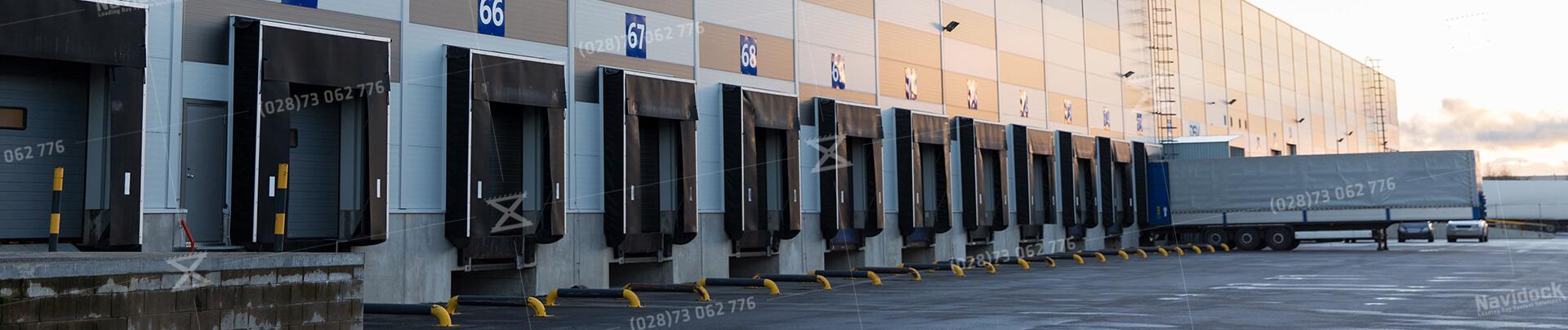 Hệ thống Dock Seal - Dock Shelter NaviDock lắp đặt tại nhà máy
