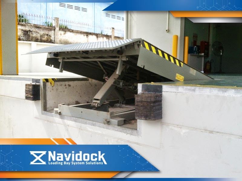 Sàn nâng cơ khí Navidock