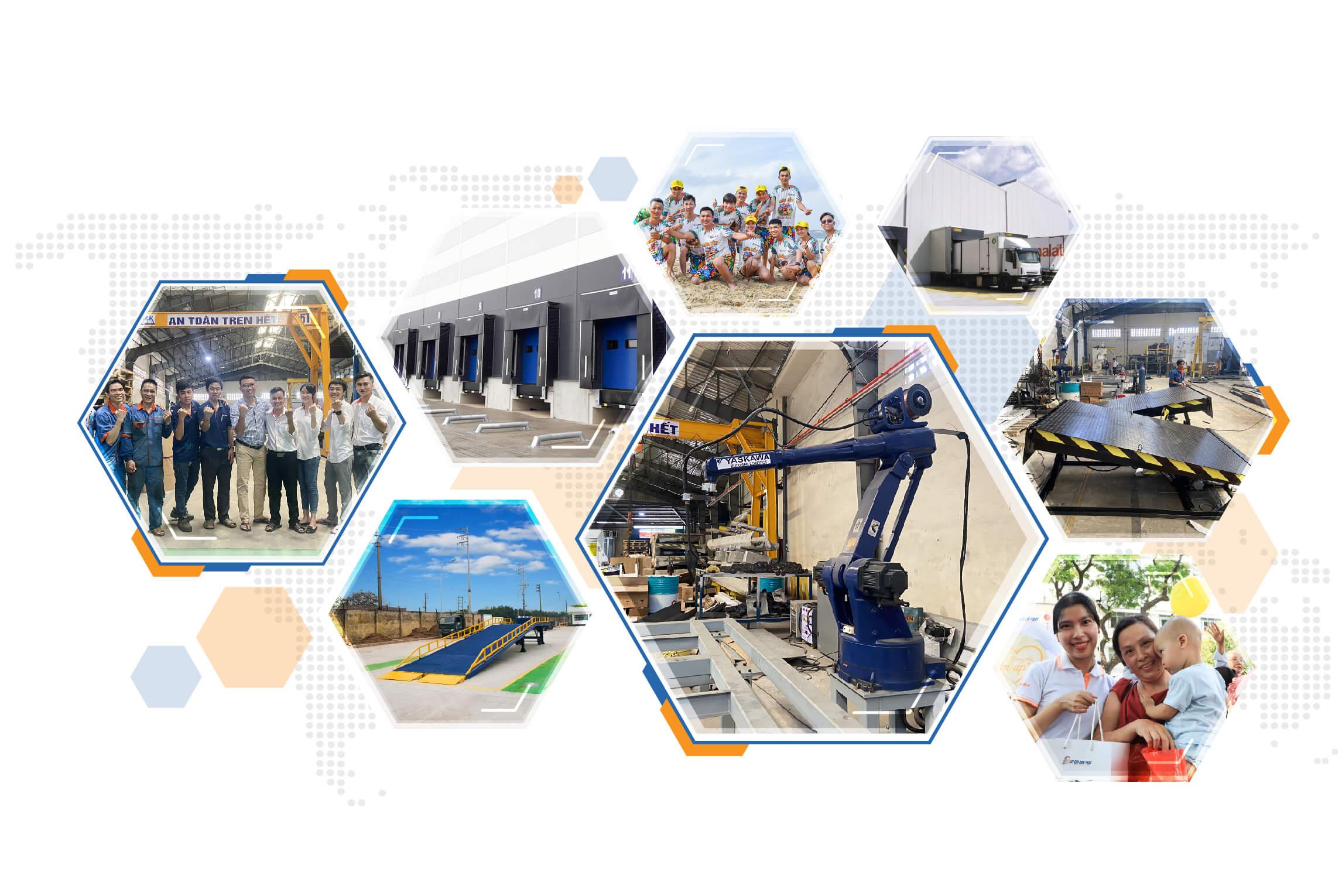 Navidock Dockleveller Manufacture VietNam
